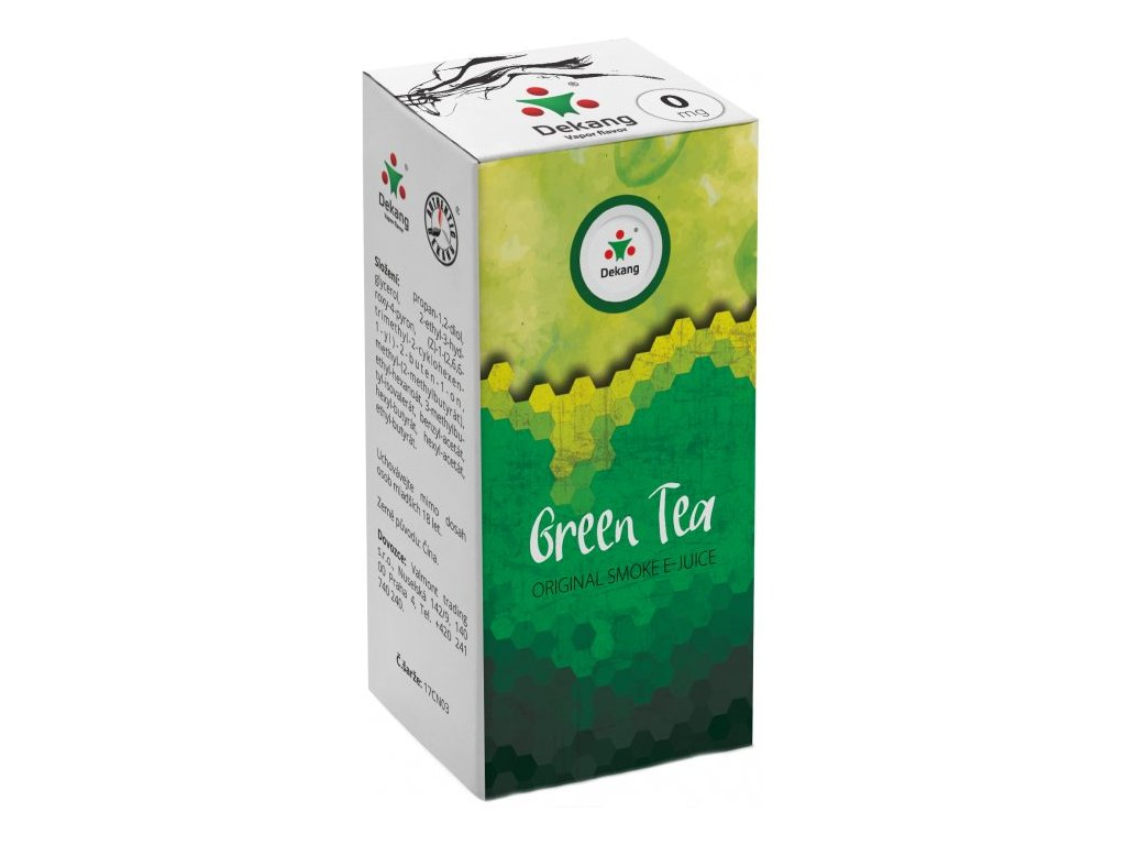 e-liquid Dekang Green Tea (Zelený Čaj), 10ml - 0mg nikotinu/ml