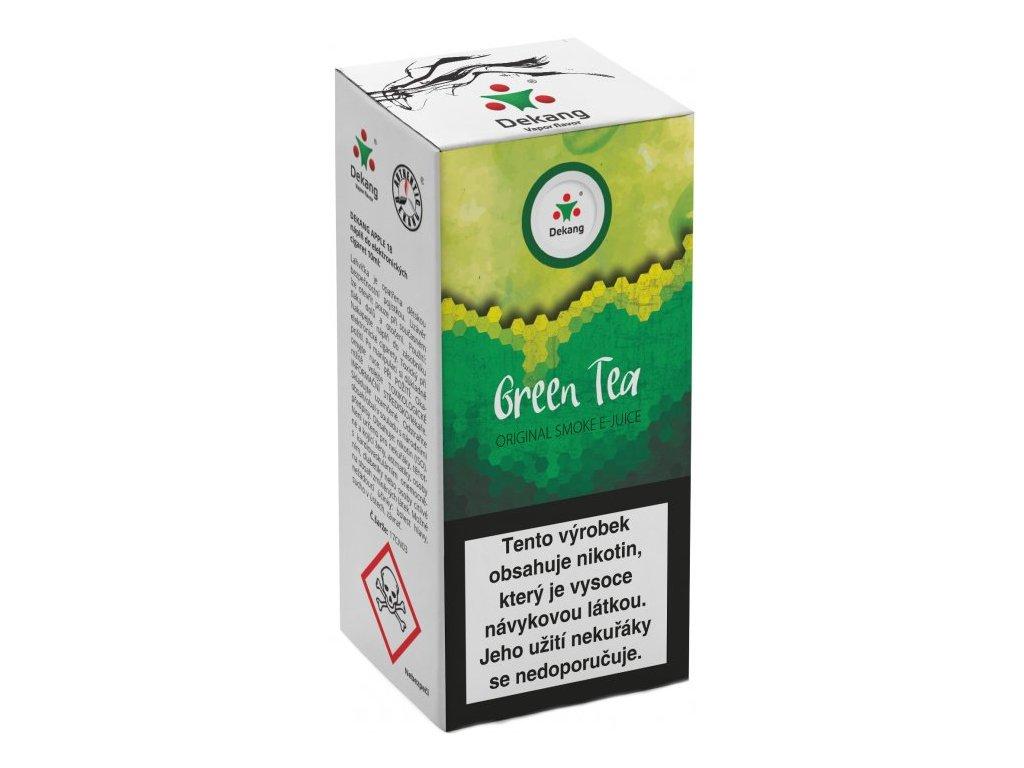 e-liquid Dekang Green Tea (Zelený Čaj), 10ml - 6mg nikotinu/ml