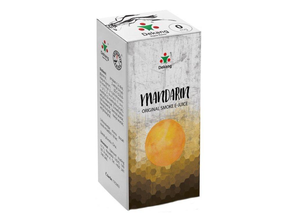 e-liquid Dekang Mandarin (Mandarinka), 10ml - 0mg nikotinu/ml