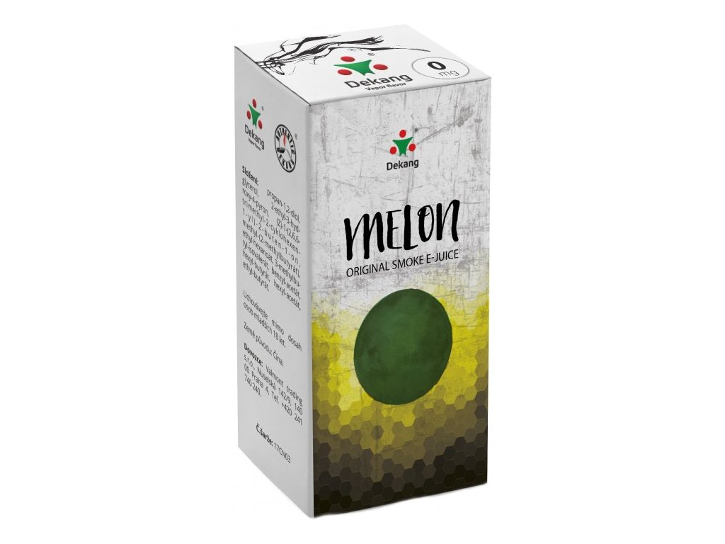 e-liquid Dekang Melon (Žlutý Meloun), 10ml - 0mg nikotinu/ml