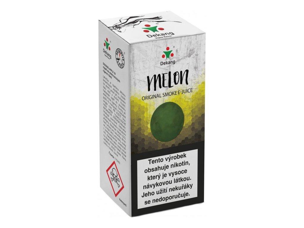 e-liquid Dekang Melon (Žlutý Meloun), 10ml - 6mg nikotinu/ml