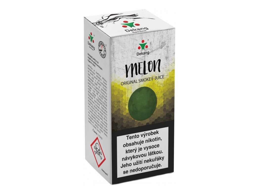 e-liquid Dekang Melon (Žlutý Meloun), 10ml - 18mg nikotinu/ml
