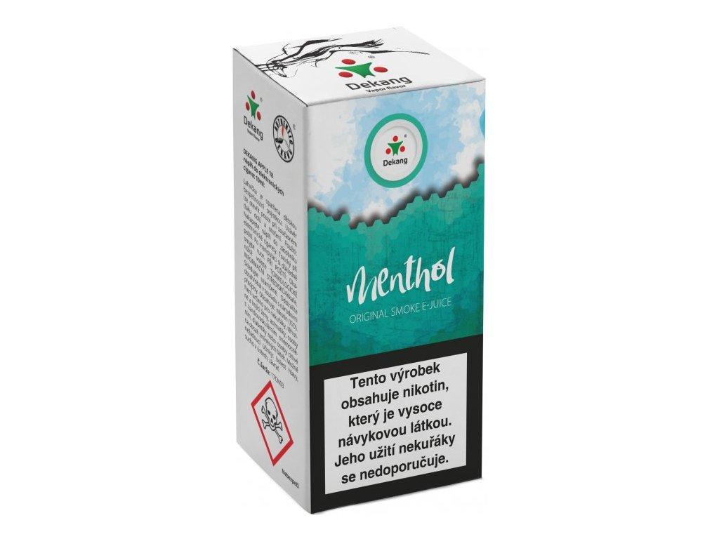 e-liquid Dekang Menthol (Mentol), 10ml - 6mg nikotinu/ml