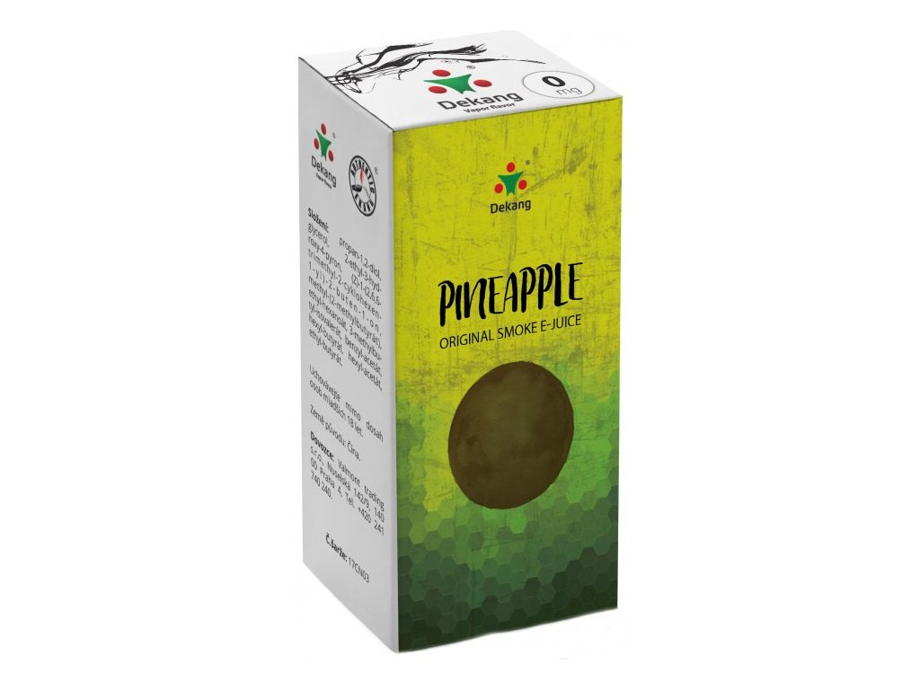 e-liquid Dekang Pineapple (Ananas), 10ml - 0mg nikotinu/ml