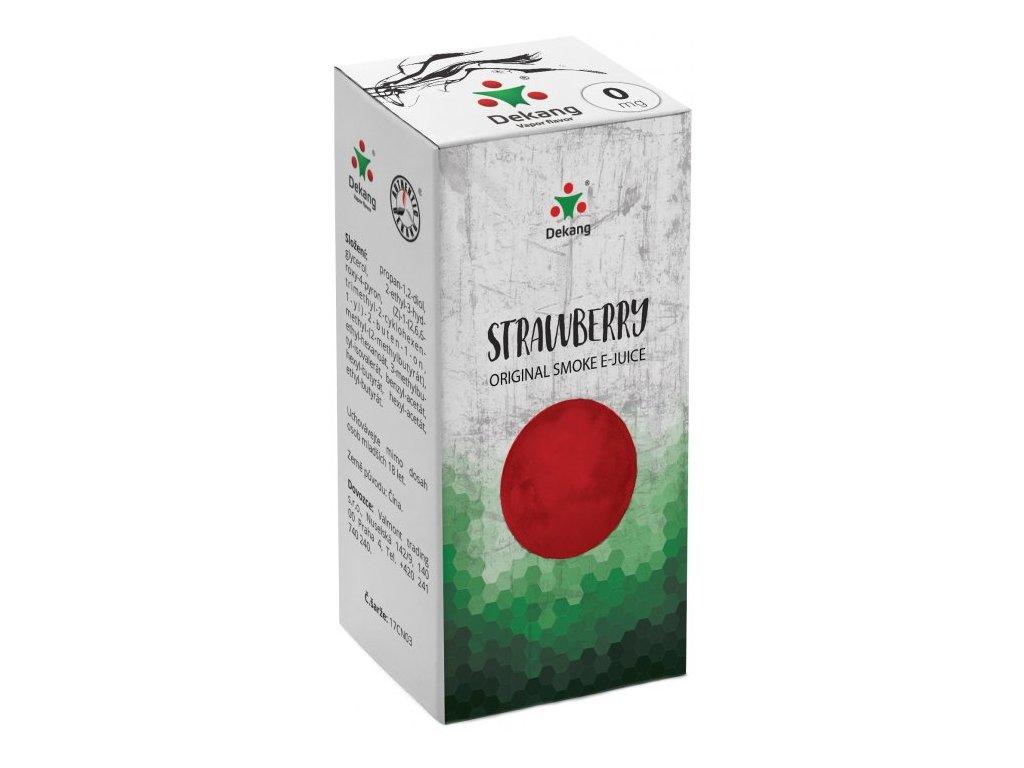 e-liquid Dekang Strawberry (Jahoda), 10ml - 0mg nikotinu/ml