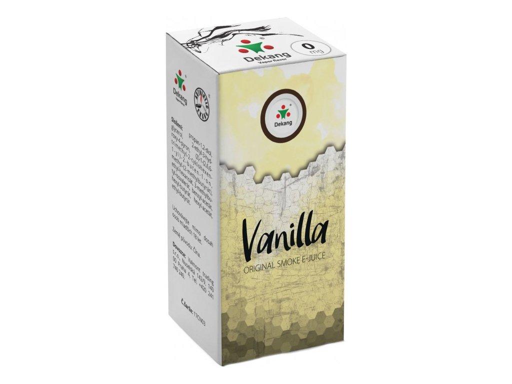 e-liquid Dekang Vanilla (Vanilka), 10ml - 0mg nikotinu/ml