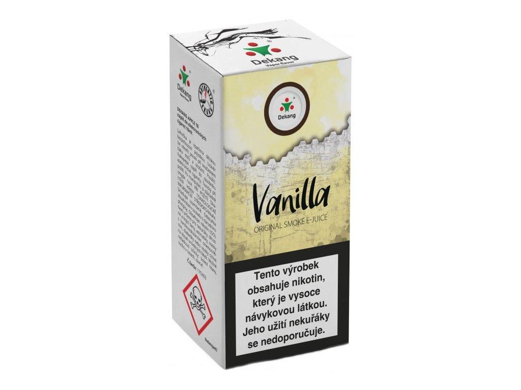 e-liquid Dekang Vanilla (Vanilka), 10ml - 18mg nikotinu/ml