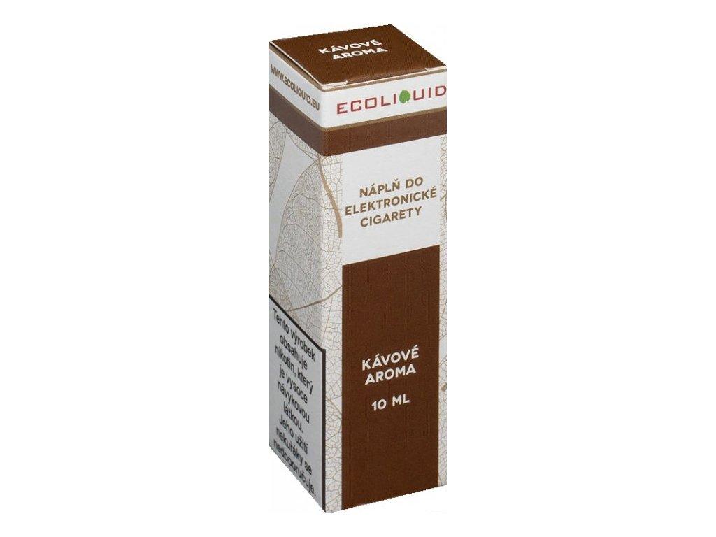 e-liquid Ecoliquid COFFEE 10ml - 0mg nikotinu/ml
