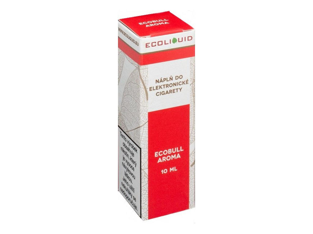 e-liquid Ecoliquid ECOBULL 10ml - 0mg nikotinu/ml