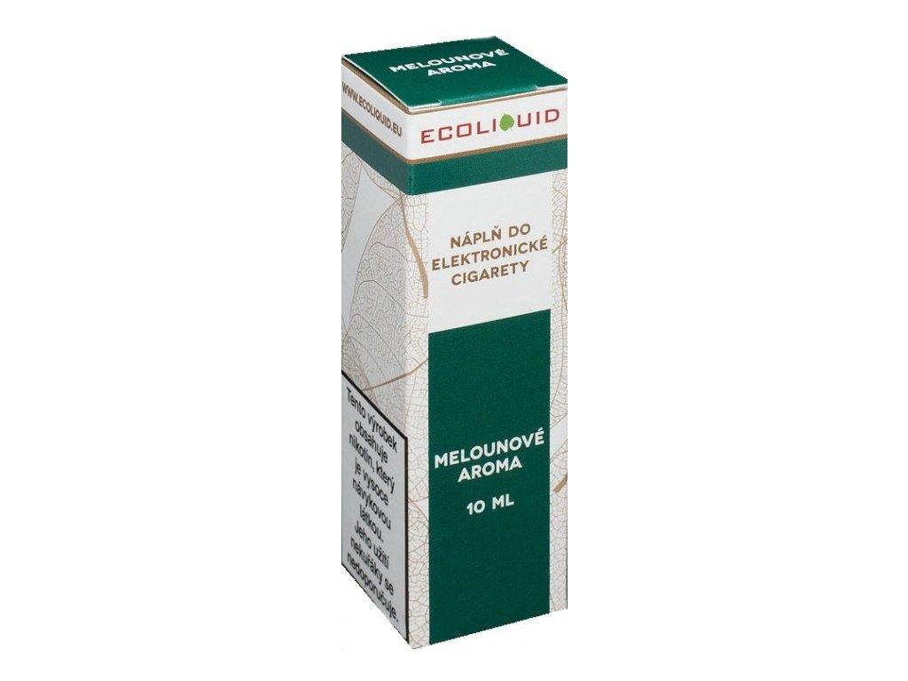 e-liquid Ecoliquid WATERMELON 10ml - 0mg nikotinu/ml