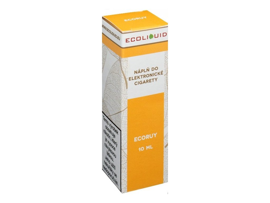 e-liquid Ecoliquid ECORUY 10ml - 18mg nikotinu/ml