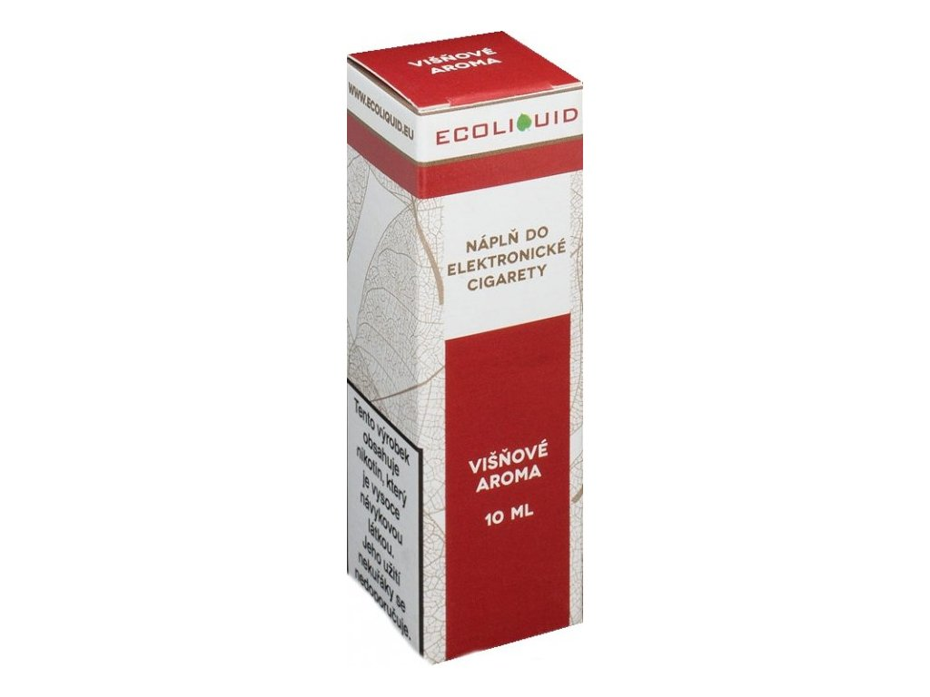 e-liquid Ecoliquid CHERRY 10ml - 6mg nikotinu/ml