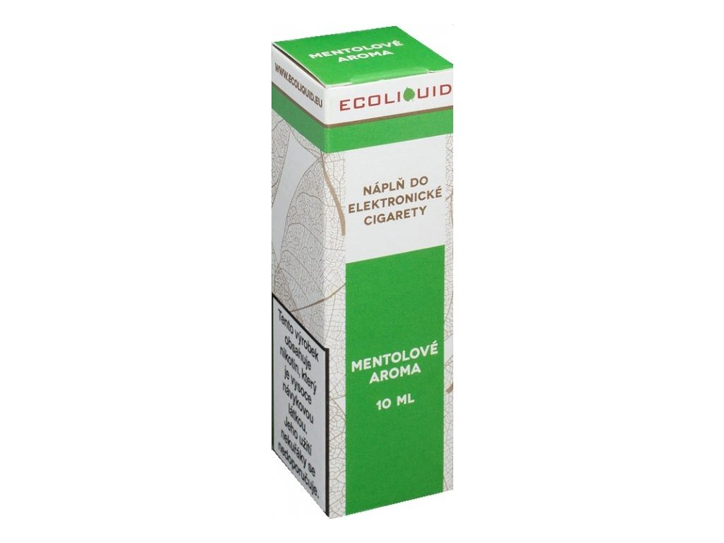 e-liquid Ecoliquid MENTHOL 10ml - 3mg nikotinu/ml