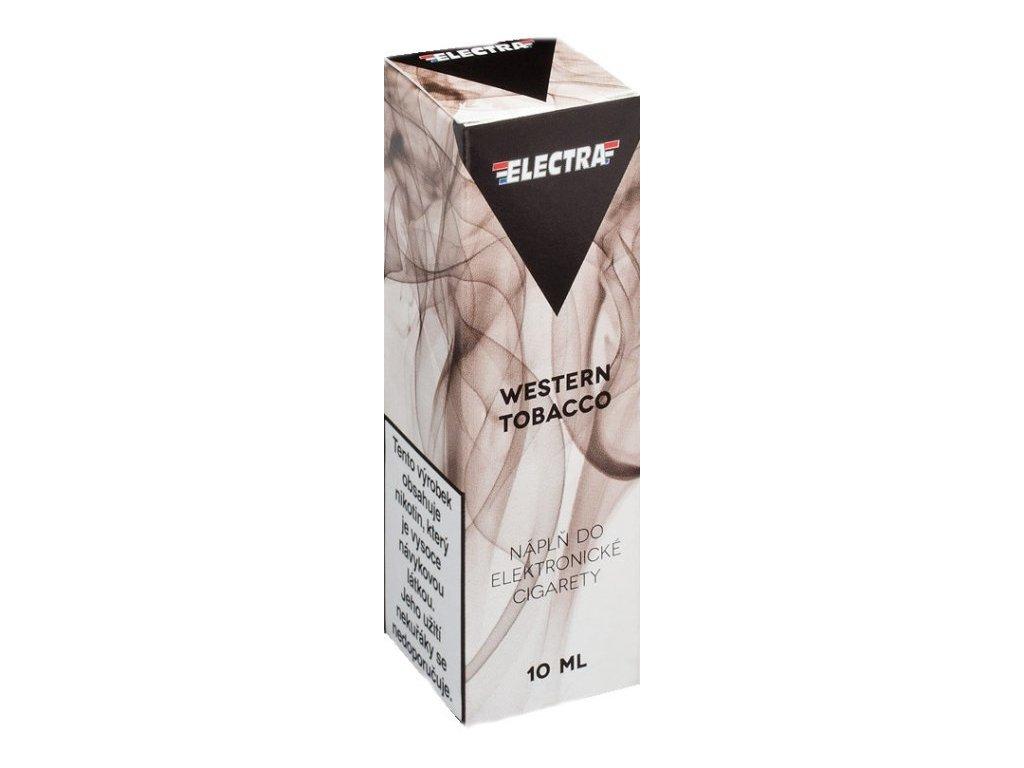 e-liquid ELECTRA Western Tobacco 10ml - 20mg nikotinu/ml