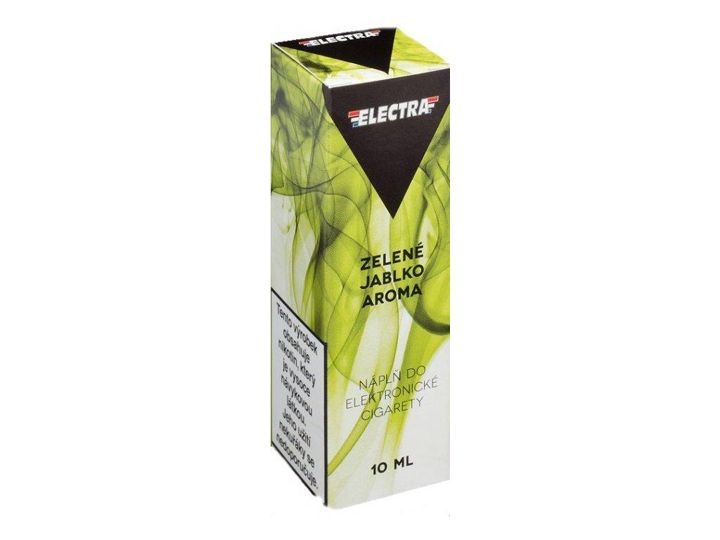 e-liquid ELECTRA Green Apple (zelené jablko) 10ml - 6mg nikotinu/ml