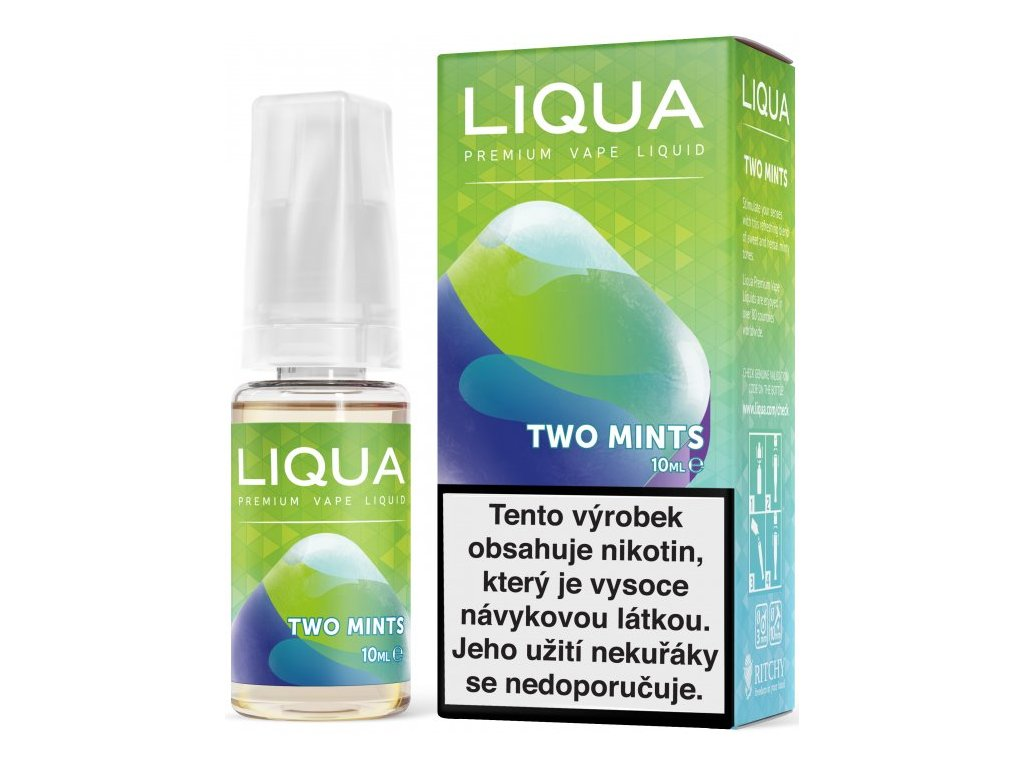 e-liquid LIQUA Elements Two Mints 10ml - 12mg nikotinu/ml