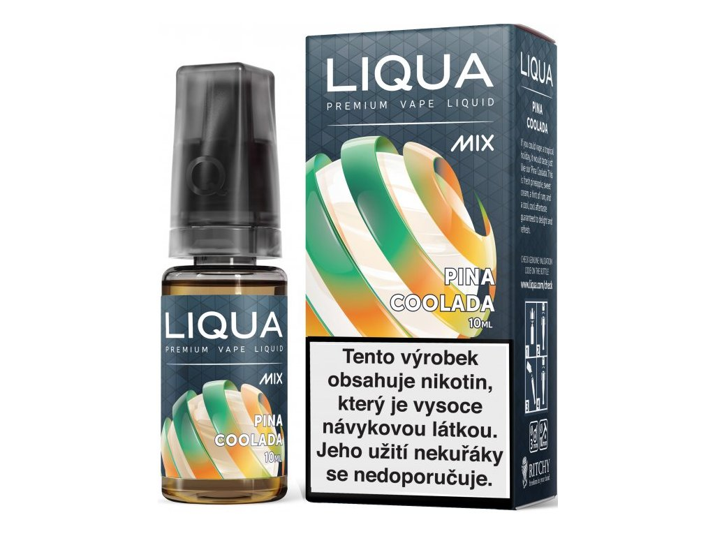 e-liquid LIQUA Mix Pina Coolada 10ml - 12mg nikotinu/ml
