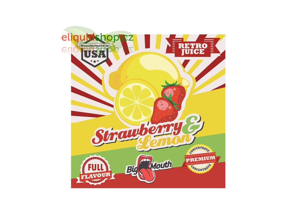 big mouth retro strawberry