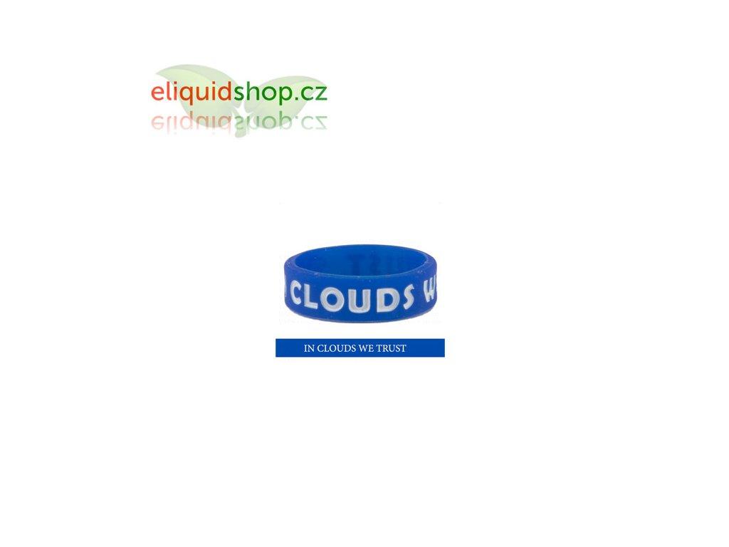 Dekorativní kroužek na clearomizér - Modrá