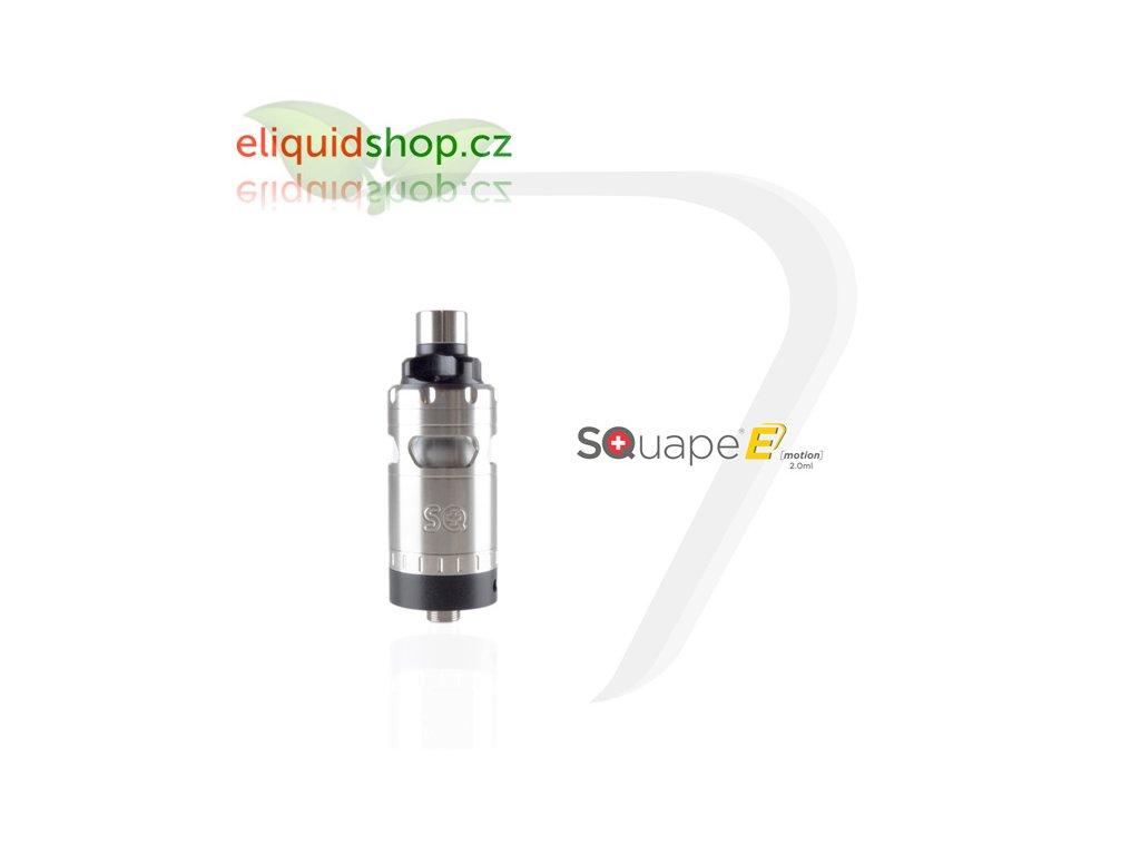 SQUAPE E Motion RTA 2ml atomizér - Černá