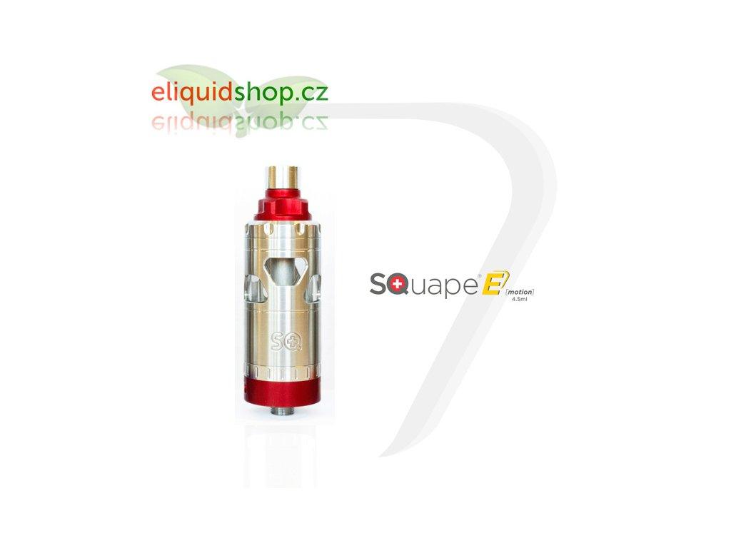 SQUAPE E Motion RTA 4,5ml atomizér - Červená