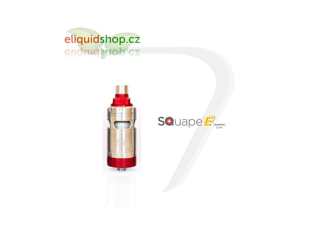 SQUAPE E Motion RTA 2ml atomizér - Červená
