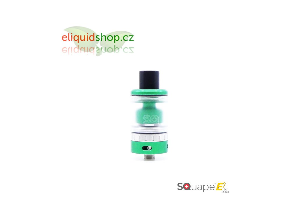 SQUAPE Ec RTA 2ml atomizér - Zelená