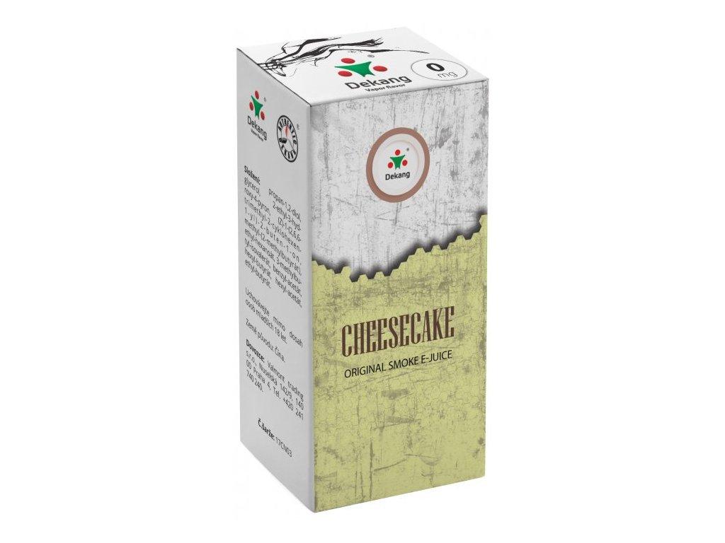 e-liquid Dekang Cheesecake, 10ml - 0mg nikotinu/ml