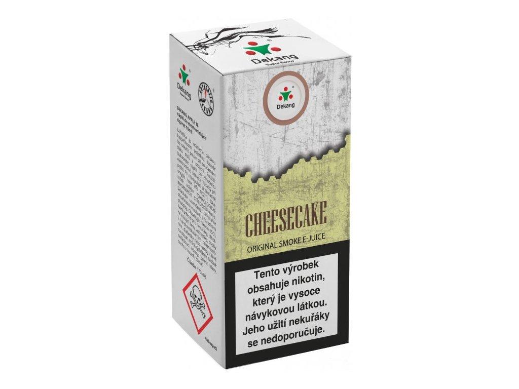 e-liquid Dekang Cheesecake, 10ml - 16mg nikotinu/ml