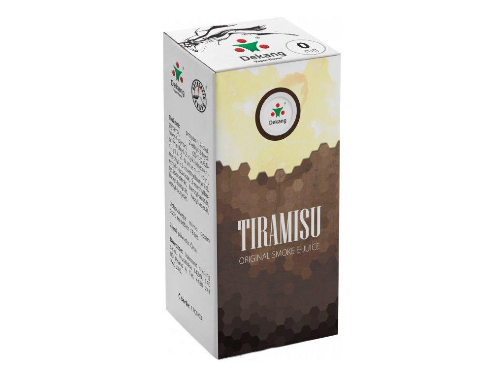 e-liquid Dekang Tiramisu, 10ml - 0mg nikotinu/ml
