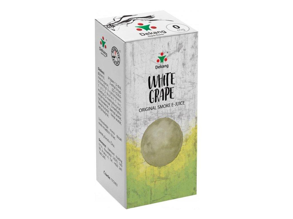 e-liquid Dekang White Grape (Bílé hroznové víno), 10ml - 0mg nikotinu/ml