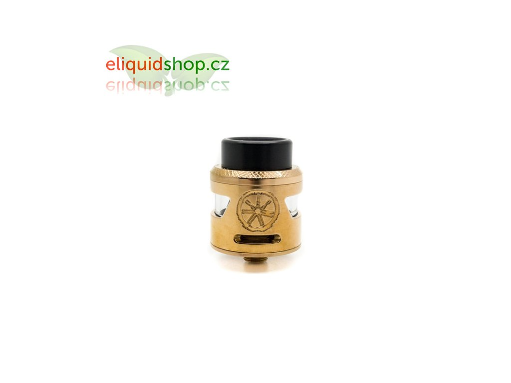 Asmodus Bunker Single Coil RDA - Rose Gold