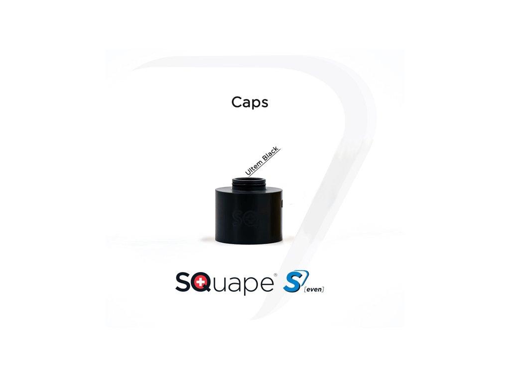 squape seven cap ultem black