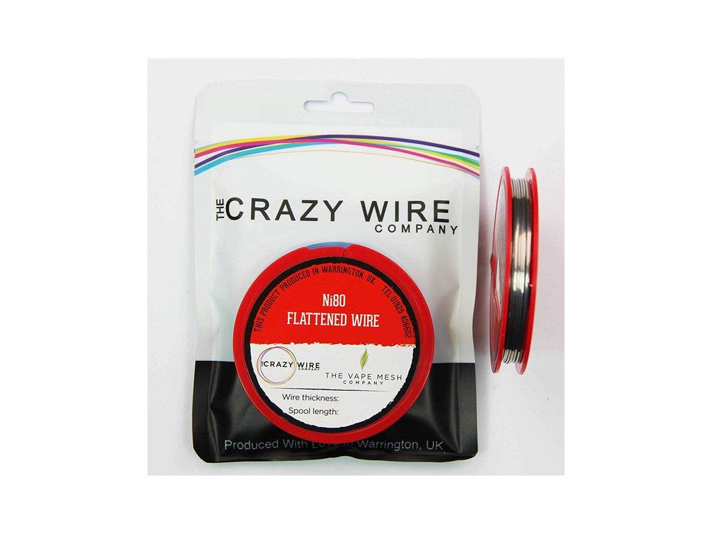 crazy wire drat flat wire ni80
