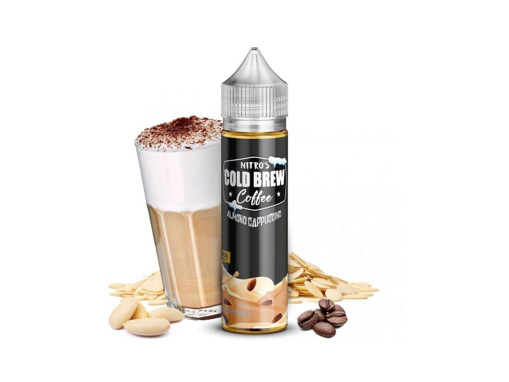 nitros coffee almond cappuccino