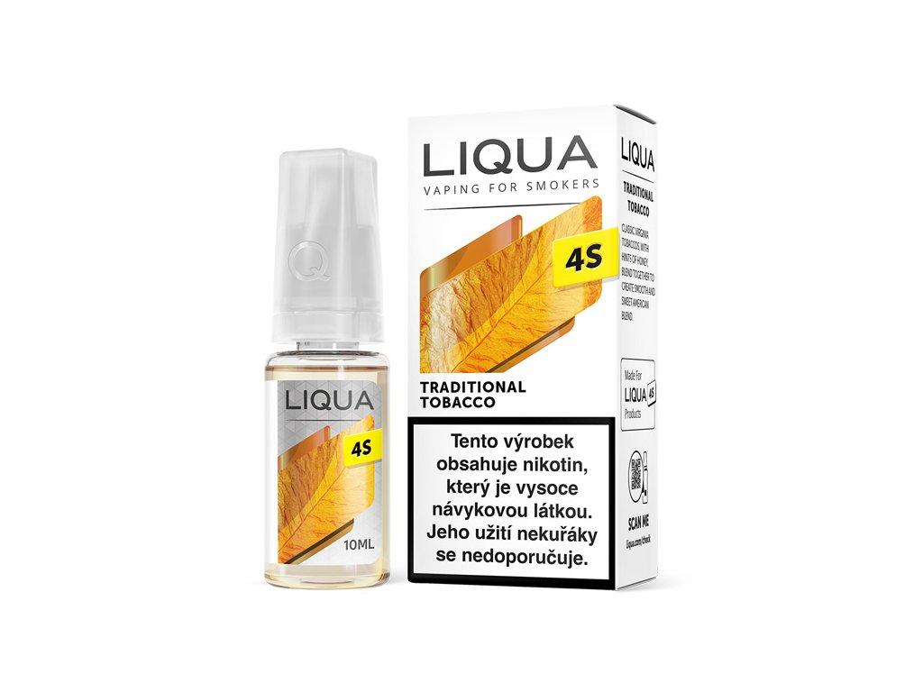 liqua 4s traditional tobacco