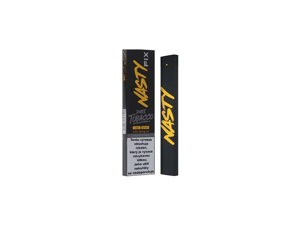 nasty juice fix elektronicka cigareta pure tobacco 20mg