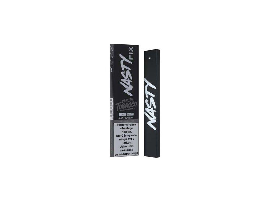 nasty juice fix elektronicka cigareta vanilla tobacco 20mg