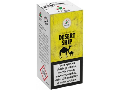 e-liquid Dekang DESERT SHIP, 10ml - 18mg nikotinu/ml