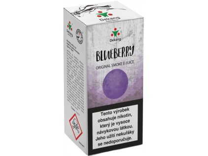 e-liquid Dekang Blueberry (Borůvka), 10ml - 18mg nikotinu/ml
