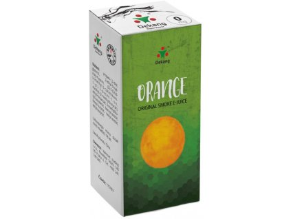 e-liquid Dekang Orange (Pomeranč), 10ml - 0mg nikotinu/ml