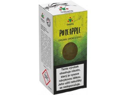 e-liquid Dekang Pineapple (Ananas), 10ml - 18mg nikotinu/ml