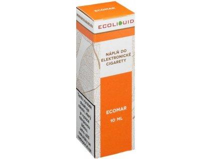 e-liquid Ecoliquid ECOMAR 10ml - 0mg nikotinu/ml