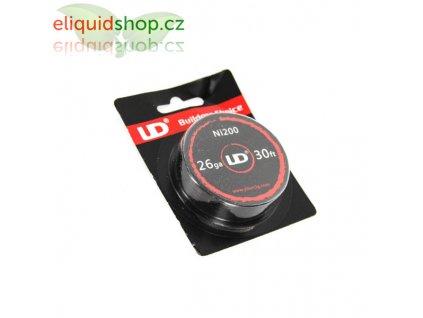 UD Ni200 - Niklový nízkoodporový drát 10m 26AWG 0,4mm