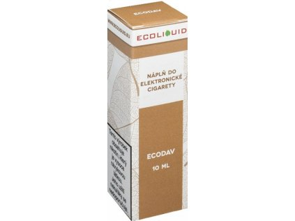 e-liquid Ecoliquid ECODAV 10ml - 18mg nikotinu/ml