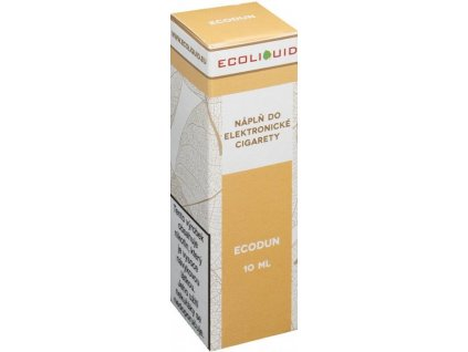 e-liquid Ecoliquid ECODUN 10ml - 12mg nikotinu/ml