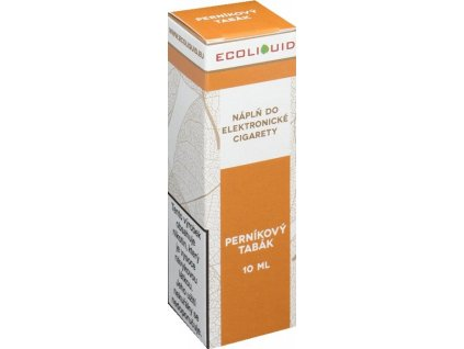e-liquid Ecoliquid GINGERBREAD 10ml - 18mg nikotinu/ml