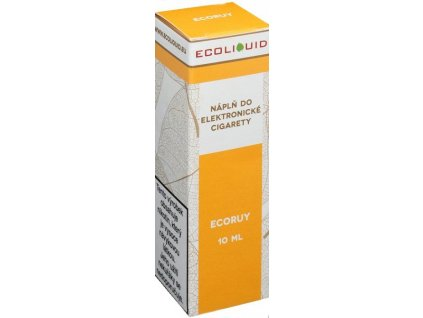 e-liquid Ecoliquid ECORUY 10ml - 18mg nikotinu/ml