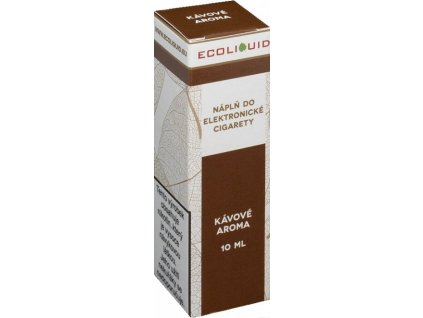 e-liquid Ecoliquid COFFEE 10ml - 18mg nikotinu/ml