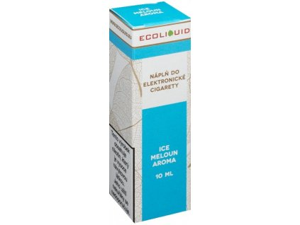 e-liquid Ecoliquid ICE MELON 10ml - 20mg nikotinu/ml